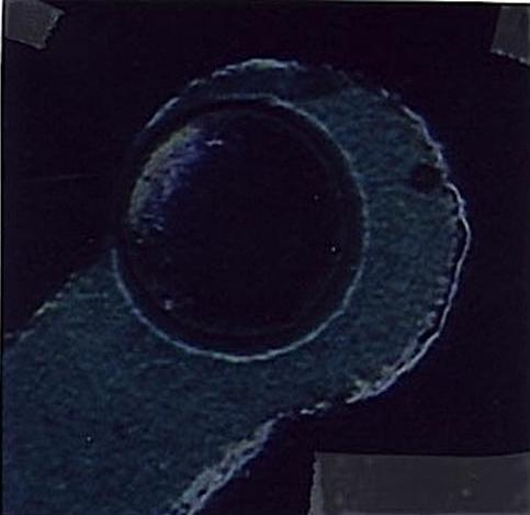 Figure 5. Annular ring violation.