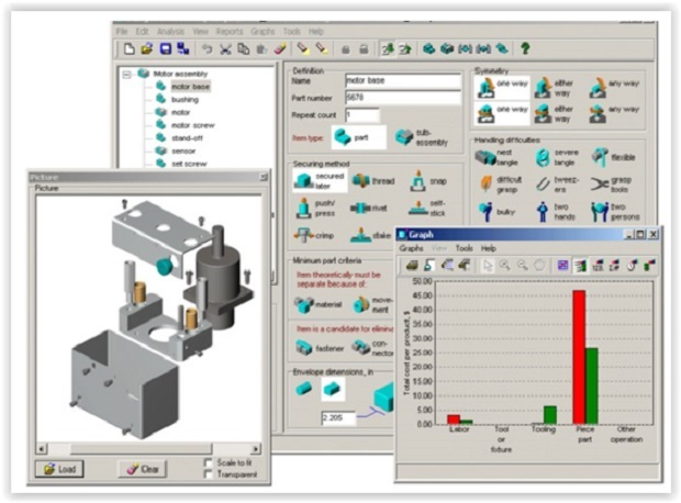Boothroyd Design For Assembly Software